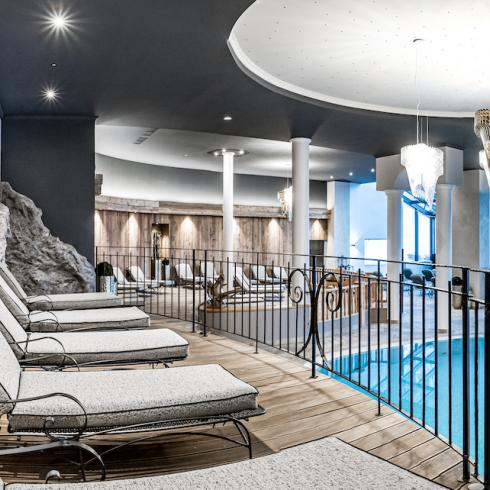 pool area wellness holiday obergurgl