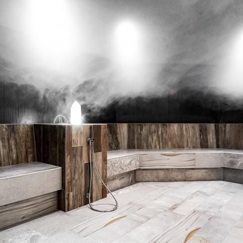 steam bath in hotel in tyrol