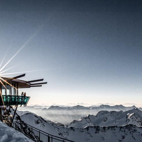 panorama bar at the gipfelgrat | © Alexander Maria Lohmann