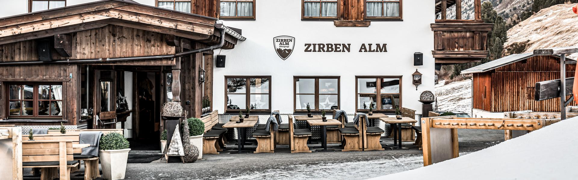 zirbenalm mountain restaurant with sun terrace | © Alexander Maria Lohmann